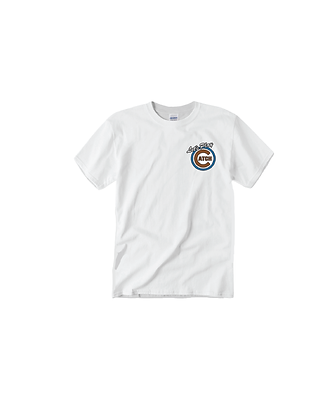 """""""Let's Play Catch"""" Embroidered Chicago Tee"""