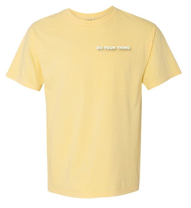 """Do Your Thing""Tee-Yellow"