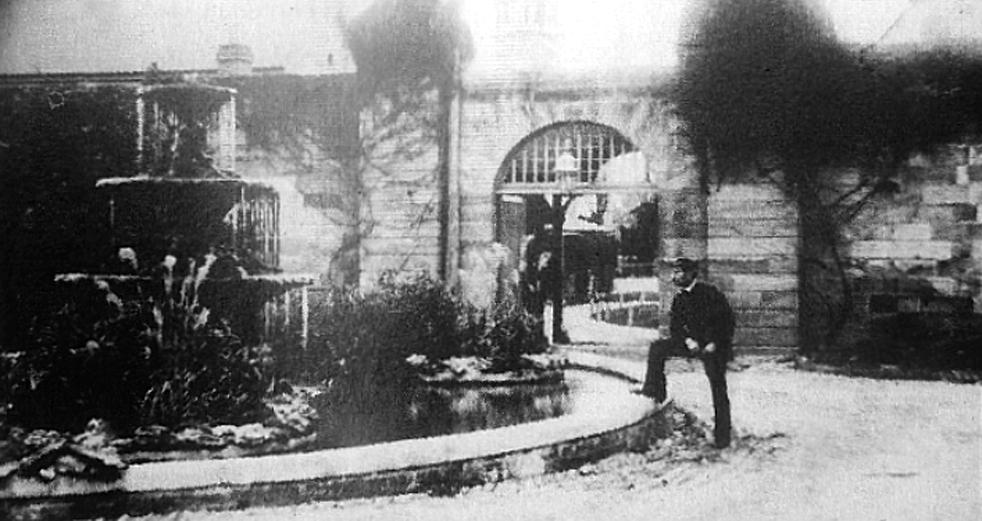 asylum fountain
