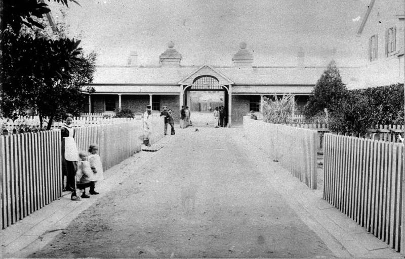 asylum inner yard