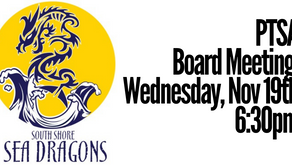 Rescheduled: PTSA Board Meeting | Thu 11/19 6:30pm