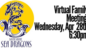 Virtual Family Meeting | Wed 4/28 6:30pm