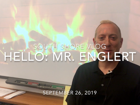 Hello from Our Librarian, Mr. Englert