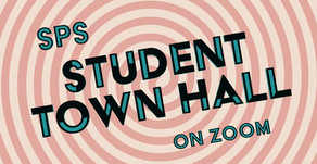 SPS Student Town Hall | Wed 6/10 6:30pm
