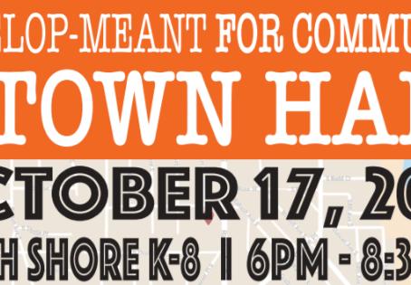 TOMORROW: Develop-Meant for Community Rainier Beach Town Hall