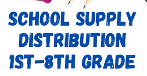 School Supply Distribution | Oct 9-10