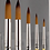 Thumbnail: Brushes, Round Set of 5