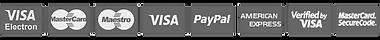 iconos pagos visa mastercard paypal american express