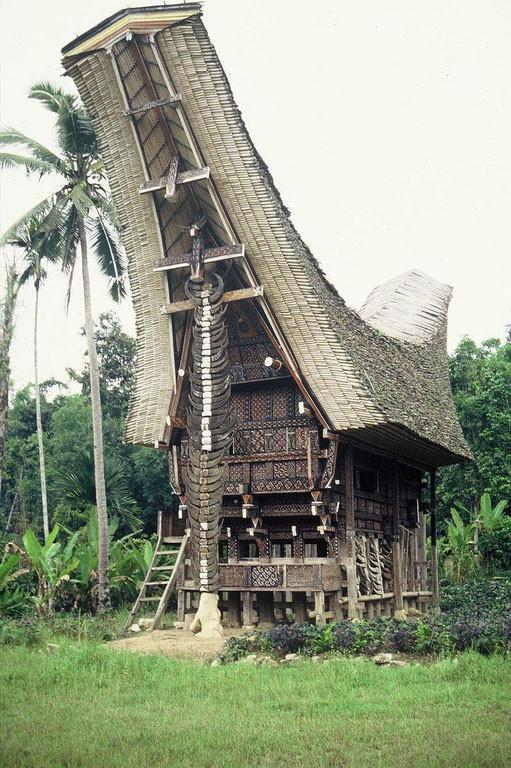 Casa Tongkonan. Sulawesi