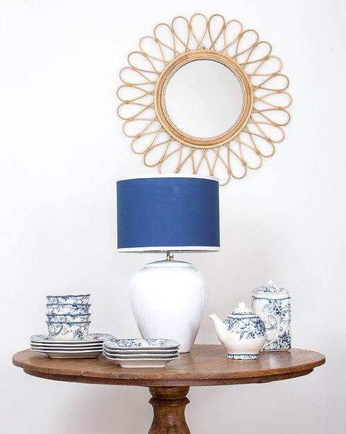Lámpara cerámica Timor / Blanco