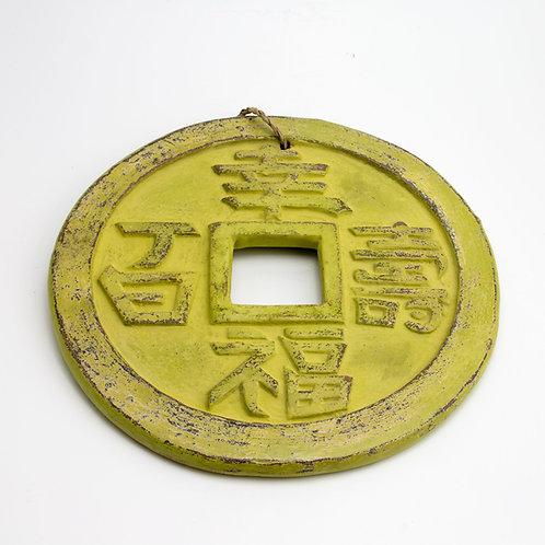 Moneda de la suerte. Pistacho
