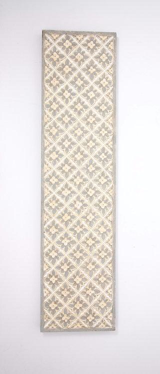 Panel tallado frangipiani