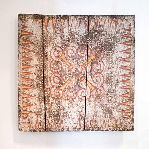 Panel de Toraja. Sulawesi 75 x 75