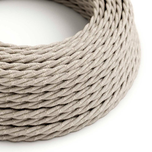 Cable textil trenzado