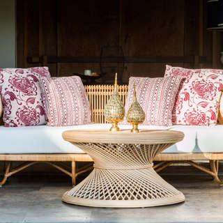 Sofa ratan natural