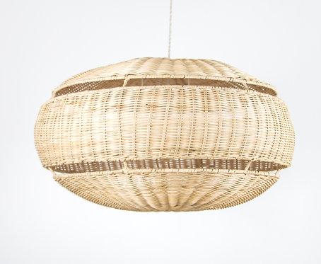 Lámpara Fiji, rattan natural