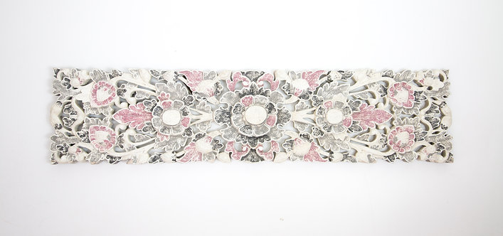 Panel tallado flor