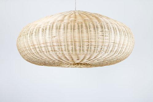 Lámpara Awa, rattan natural
