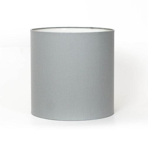 Pantalla algodón gris plata