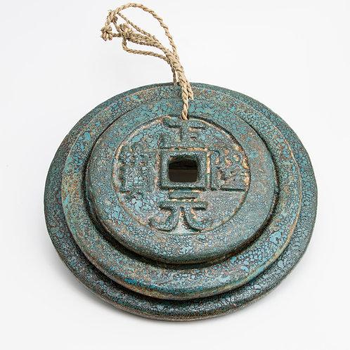 Moneda de la suerte. Azul óxido