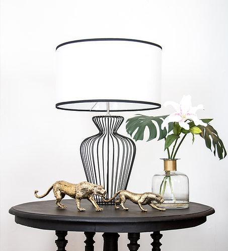 Lámpara metálica Saigón