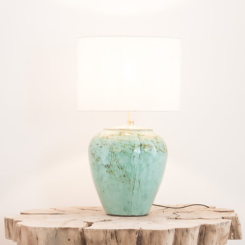 Lámpara cerámica Timor / Turquesa