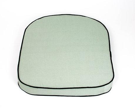 Cojín de asiento  de Silla Kanvaz, rattan natural