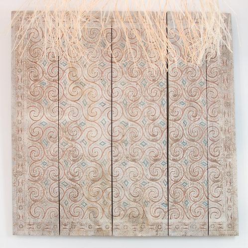 Panel de Toraja. Sulawesi 120 x 120