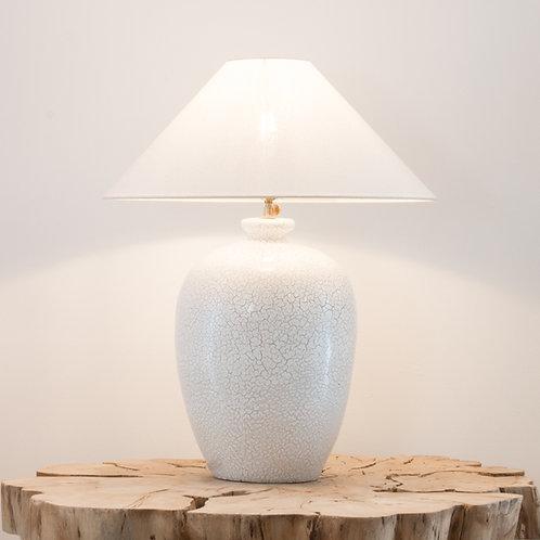 Lámpara cerámica Tibor / Craquelada
