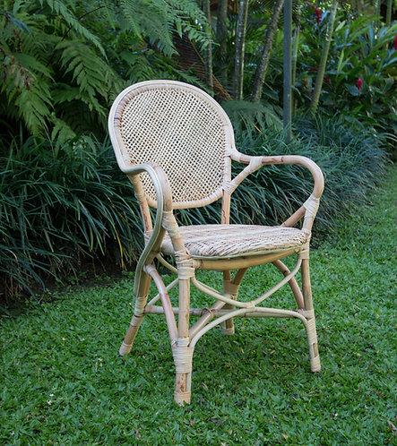 Silla Angkor, rattan natural
