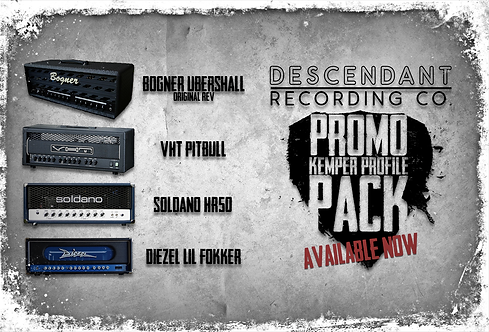 Descendant Recording Co. Promo Kemper Pack
