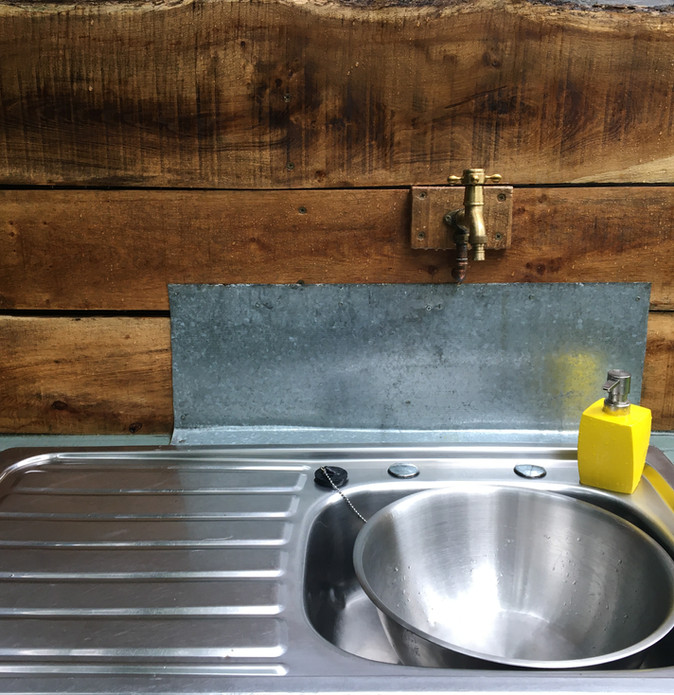 Tap and sink at the Exclusive pitch