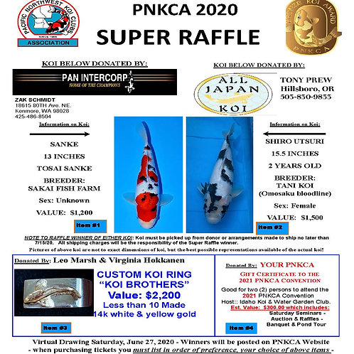 10 Pack Super Raffle Tickets