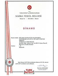 Dinamo Marka Tescil Belgesi