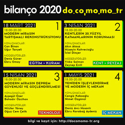 Docomomo_tr Bilanço 2020