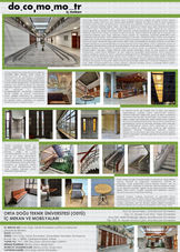 Orta Doğu Teknik Üniversitesi, İç Mekan ve Mobilyaları