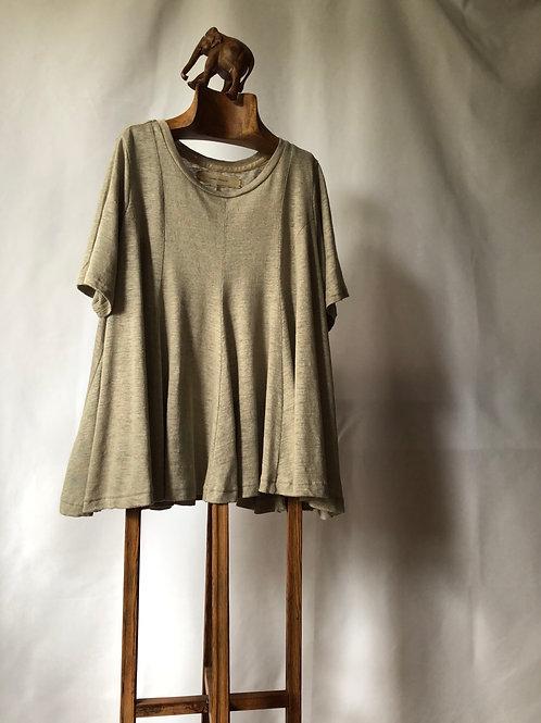 suzuki takayuki / flared t-shirt