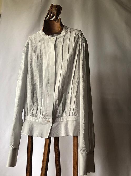 humoresque / tuck blouse