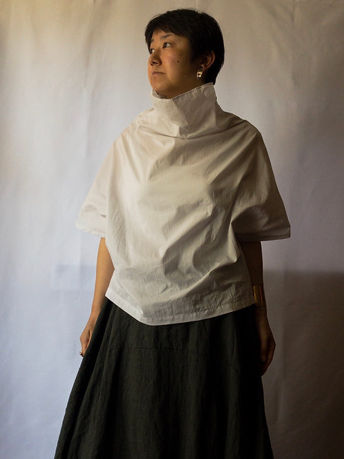 humoresque / off turtle blouse