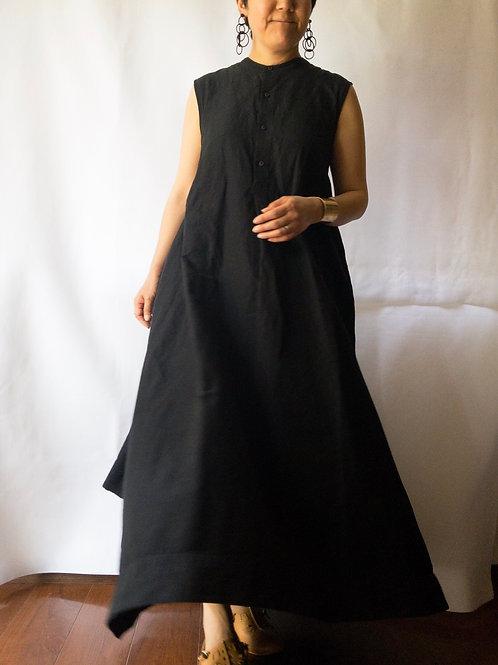 kaval / No-sleeve long dress