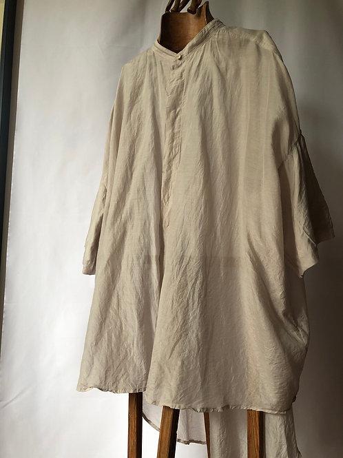 suzuki takayuki / balloon-sleeve blouse