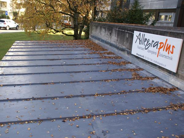 PVC Dach Wylerringstr. Bern