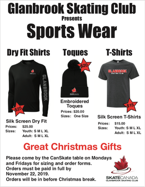 Sports Wear Available!!!