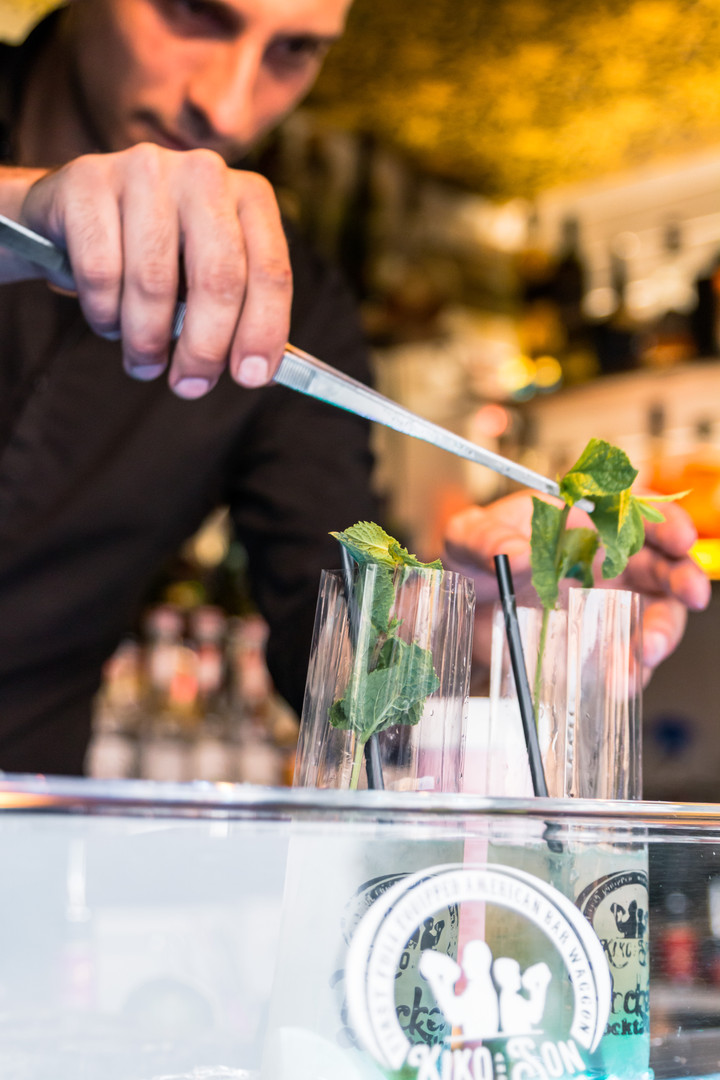 Pocket Cocktails frisch gemixt