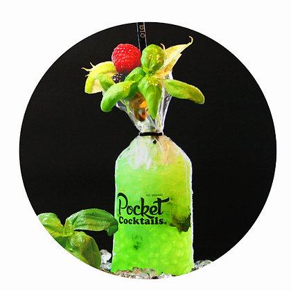 Pocket Cocktails Zustellung Wien   Gin Basil Smash bestellen