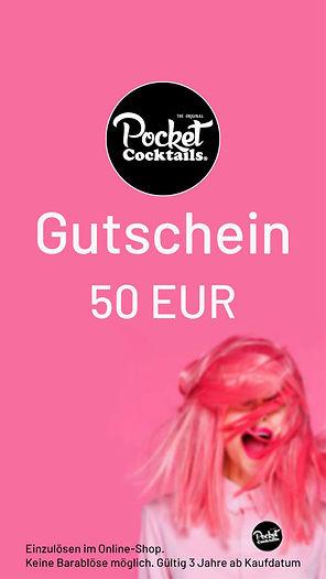 Gutschein beste Freundin - Pocket Cocktails | Geschenkidee, Trends, Weihnachtsgeschenk, Idee, Wien