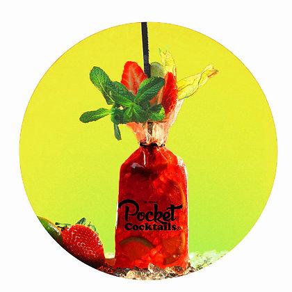 Pocket Cocktail Zustellung Wien | Strawberry Caipirovska bestellen