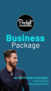 Business Catering Wien | Pocket Cocktails