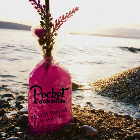 Pocket Cocktail on the Beach