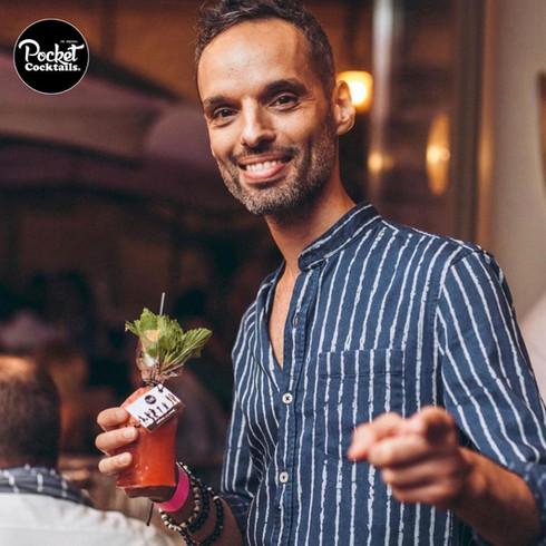 Cocktails to go trinken in Wien. Events, Catering, Hochzeit, zu Hause
